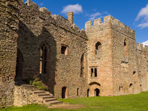 Ludlow Castle, England. The Great hall at Ludlow Castle. Shropshire, England Royalty Free Stock Images
