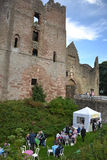 Ludlow Castle Event Stock Image