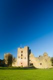 Ludlow castle,a portrait. Ludlow castle Royalty Free Stock Photo