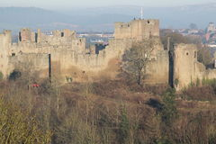 Ludlow-castle. Royalty Free Stock Photos