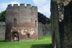 Ludlow castle. Ludlow, UK - 19 June, 2014: The keep at Ludlow Castle Royalty Free Stock Images