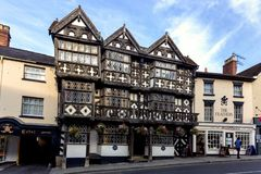 Feathers hotel in Ludlow stock photo
