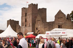 Ludlow Food Festival 2011 Royalty Free Stock Photo