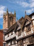 Ludlow - historisk engelsk stad Fotografering för Bildbyråer