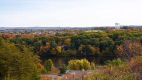 Ludlow Massachusetts Scenic Overlook Royalty Free Stock Photos