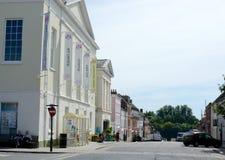 Ludlow miasteczko Zdjęcie Stock