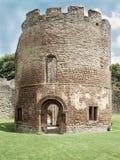 Ludlow slott Arkivbild