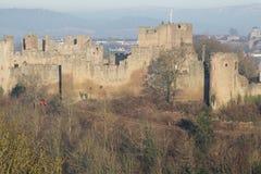 Ludlow-slott Royaltyfria Foton