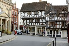 Ludlow town centre, Shropshire Stock Photography