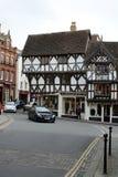 Ludlow town centre, Shropshire Stock Photo