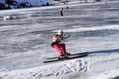 ludmila polyakova snowkite 库存图片
