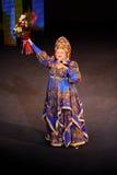 Ludmila Rumina canta en el concierto Foto de archivo libre de regalías