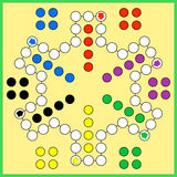 Ludo Board Game Royalty Free Stock Photos