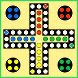 Ludo board game Stock Images