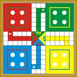 Ludo-Print & Gift or Play Stock Photography