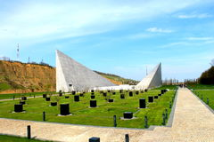 Ludobójstwo Pamiątkowy kompleks, Guba, Azerbejdżan Zdjęcia Royalty Free