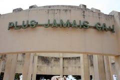 Ludobójstwo pomnik przy Kibimba Zdjęcia Royalty Free