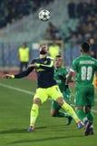 Ludogorets versus Arsenaalvoetbalwedstrijd royalty-vrije stock fotografie