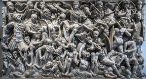 Ludovisi Battle sarcophagus Stock Image