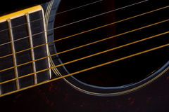 ludowa gitara Fotografia Royalty Free