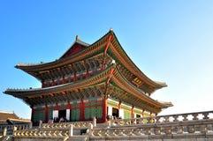 ludowego gyeongbokgung muzeum pałacu krajowego Korei Obraz Stock