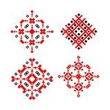 Ludowego ornamentu wektorowego projekta etniczny tradycyjny ilustracji