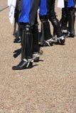 Ludowego tancerza stopa Zdjęcie Stock