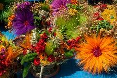 Ludowy kwiat Fotografia Stock