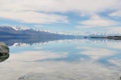 Ludowy strumień, Newzealand Obraz Royalty Free