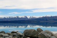 Ludowy strumień, Newzealand Zdjęcie Royalty Free