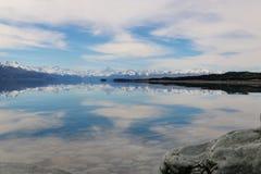 Ludowy strumień, Newzealand Zdjęcia Royalty Free