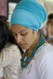 Ludowy Sztuki Rynku Doroczne wydarzenie w Santa Fe, NM USA Zdjęcia Royalty Free