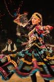 Ludowy taniec Kalbeliya Zdjęcia Royalty Free