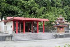 Ludowy wiary miejsce w wulaokeng scenicznym punkcie fotografia stock