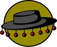 ludoznawczy kapelusz royalty ilustracja