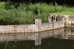 The Ludwig Canal in Bavaria Stock Images