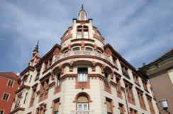 Ludwig Hof w Maribor, Slovenia fotografia stock