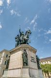 Ludwig I of Bavaria statue in Munich, Germany Stock Photo