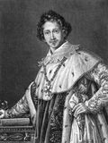 Ludwig I de la Bavière Photo stock