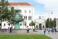 Ludwig Maximilian University de Munich Fotografía de archivo libre de regalías