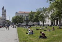 Ludwig Maximilian University - Monaco di Baviera Fotografia Stock Libera da Diritti