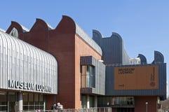 Ludwig Museum in de stad van Keulen, Duitsland Stock Afbeelding