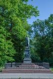 Ludwig Uhland. Monument of the poet Ludwig Uhland Royalty Free Stock Image