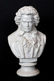 Ludwig Van Beethoven depresji klucz obrazy stock