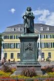 Ludwig Van Beethoven. Monument in his hometown Bonn, Germany Royalty Free Stock Photo