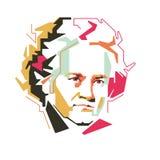 Ludwig van Beethoven vektorillustration /eps vektor illustrationer
