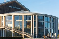 Ludwigs Festival Theatre in Fuessen, Bavaria Royalty Free Stock Image