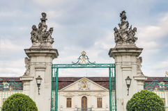 Ludwigsburg宫殿在德国 免版税库存图片