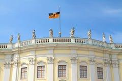 Ludwigsburg宫殿门面 免版税库存图片
