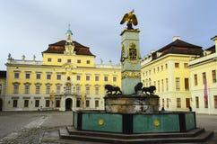 Ludwigsburg宫殿 免版税库存图片
